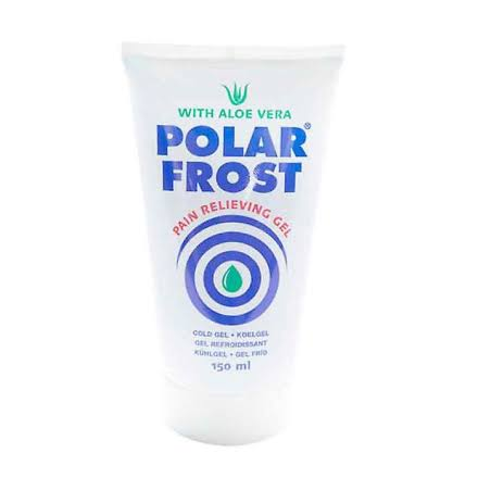 Polar Frost Pain Relieving Gel - Aloe Vera, 150ml