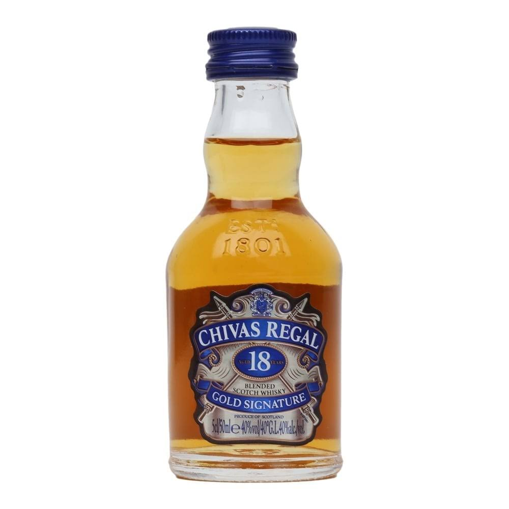 Chivas Regal 18 Year Old - 5cl Miniature