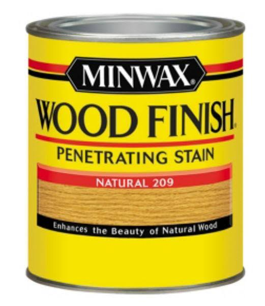 Minwax Wood Finish Penetrating Stain - 209 Natural