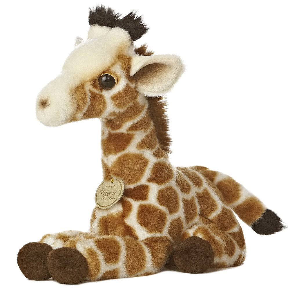 Aurora World Miyoni Tots Giraffe Calf Plush Toy - 25cm