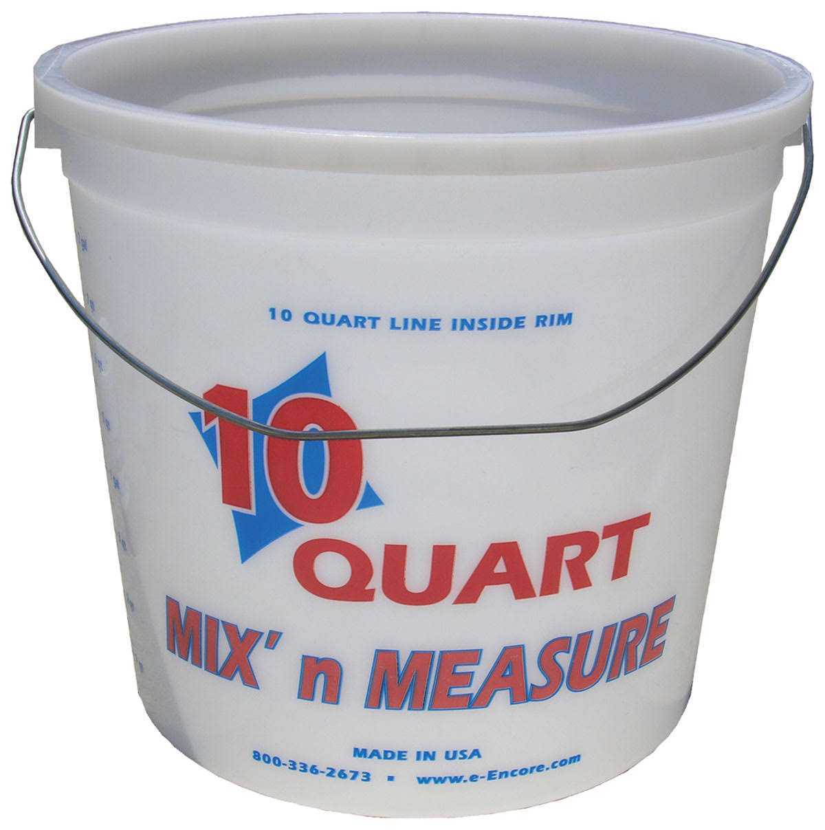 Encore Plastics Mix and Measure Pail - 10qt