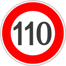El polémico límite de velocidad a 110 Km/h