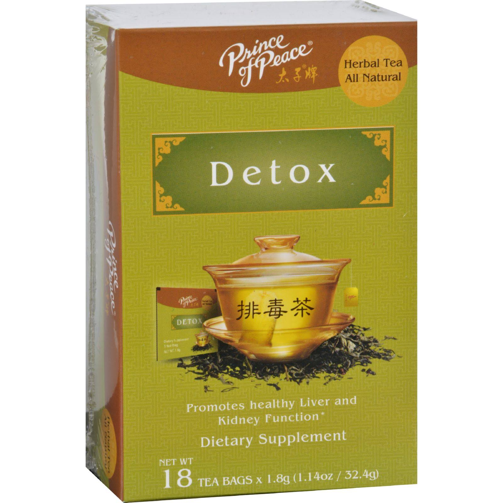Prince of Peace Detox Tea - 18ct