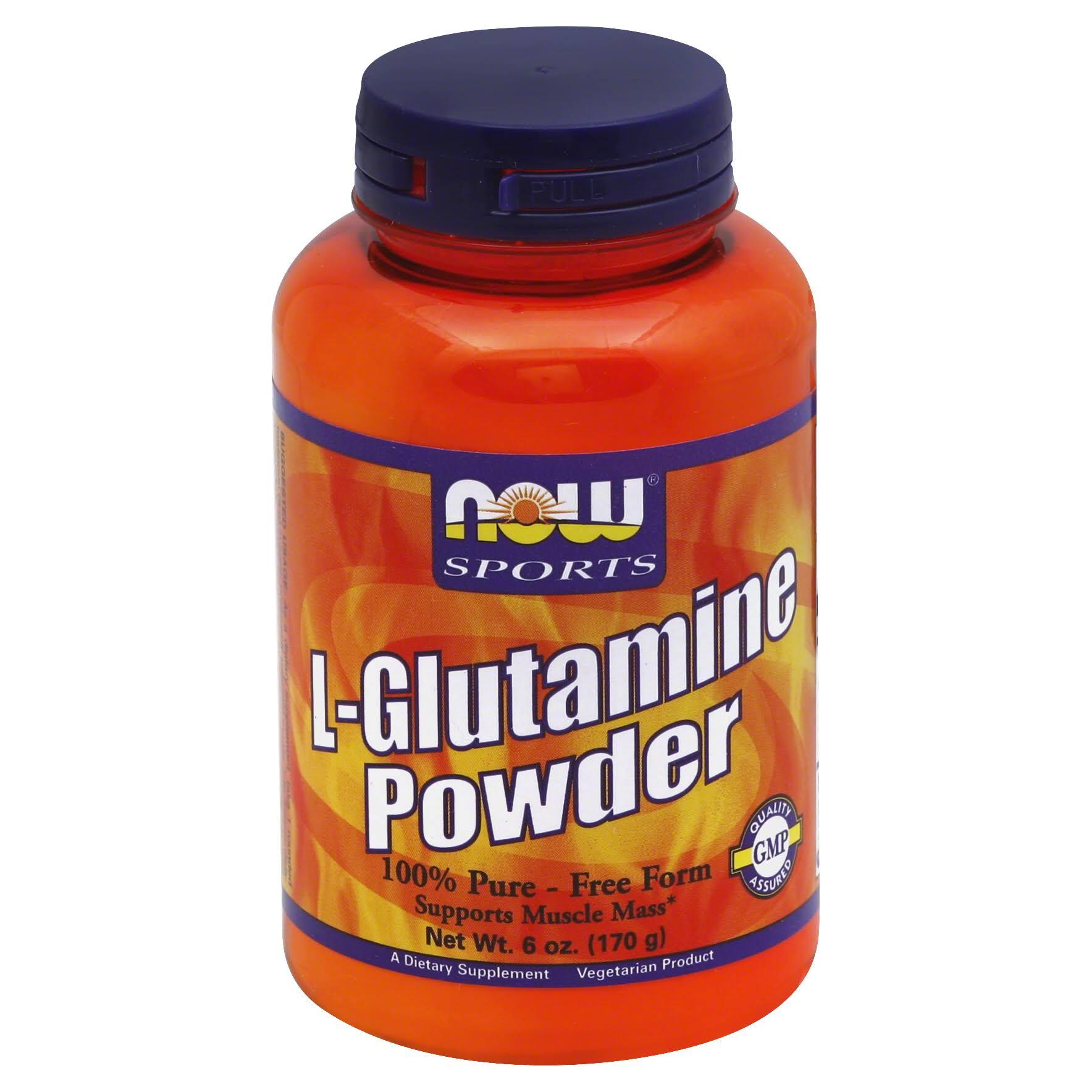 Now Sports L-Glutamine Powder - 170g