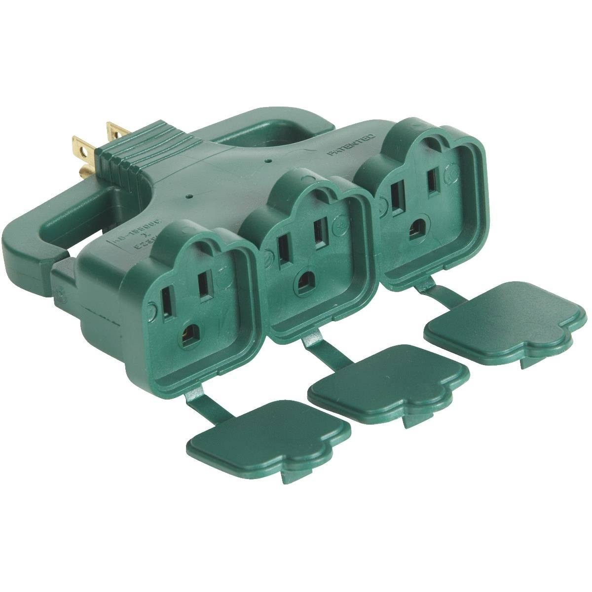 Do It Best Multi-Outlet Tap - Green