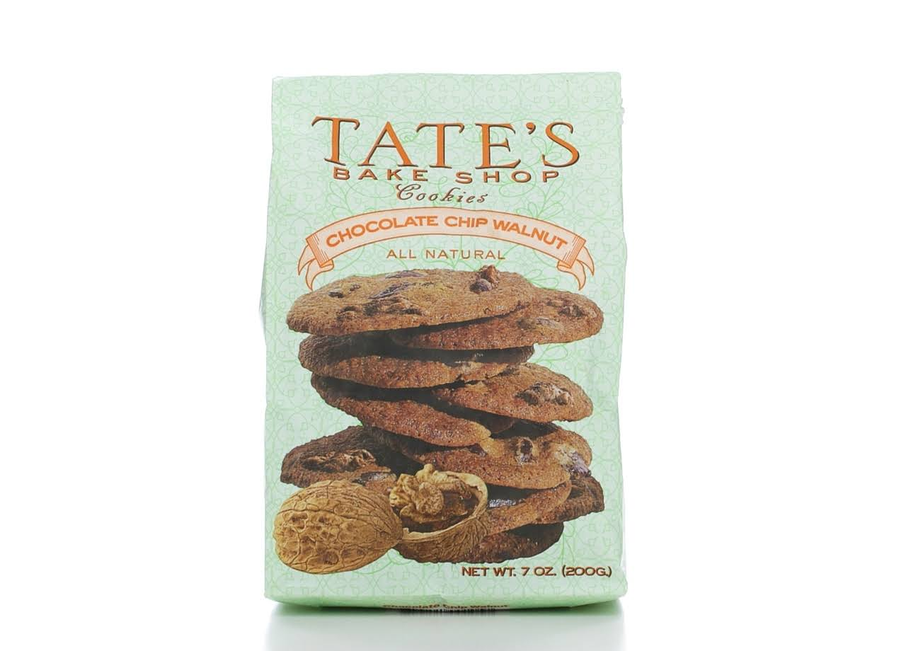 Tate's Bake Shop Cookies - Chocolate Chip Walnut, 200g