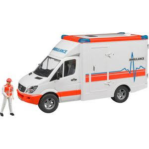 Mercedes Benz Sprinter Ambulance with Driver Model Toy Kit