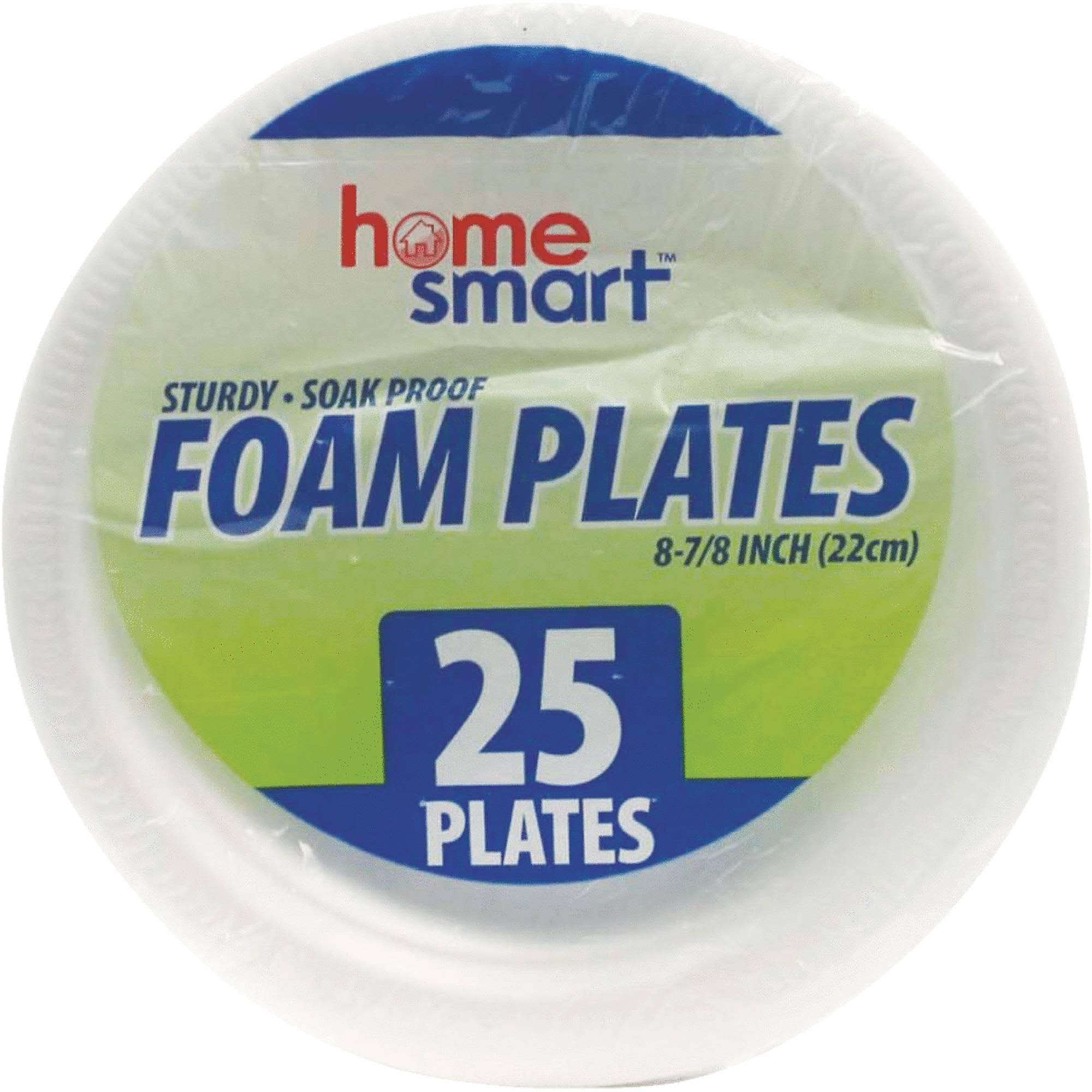 International Wholesale Home Smart 8-7/8 in. Foam Plate (Pack of 24)