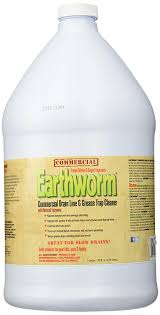 Natural Remedy For Clogged Bathroom Drain by Amazon Com Earthworm Commercial Drain Line And Grease Trap