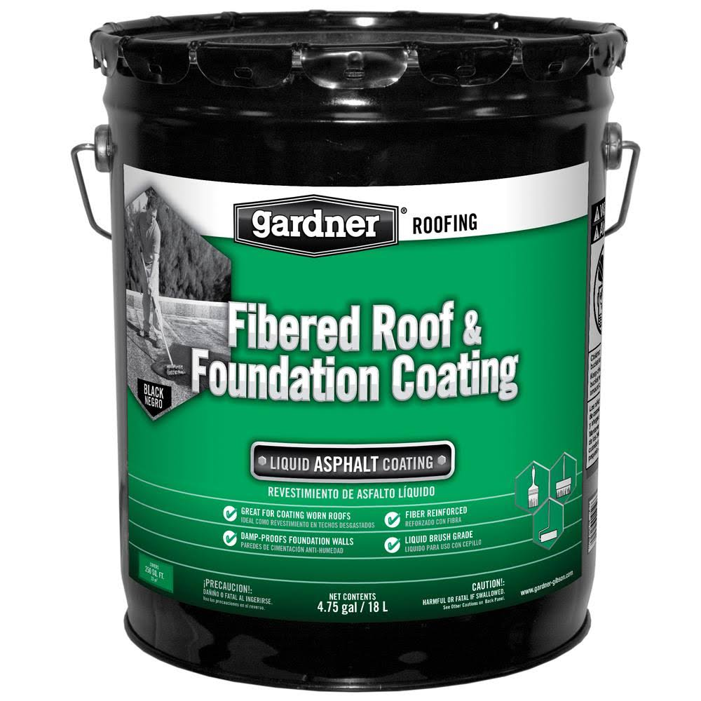 Gardner Gibson Fibered Roof Coat - 5 Gallon
