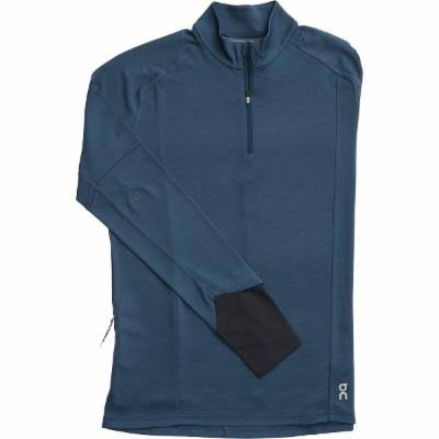on Running Weather Shirt - Navy - S