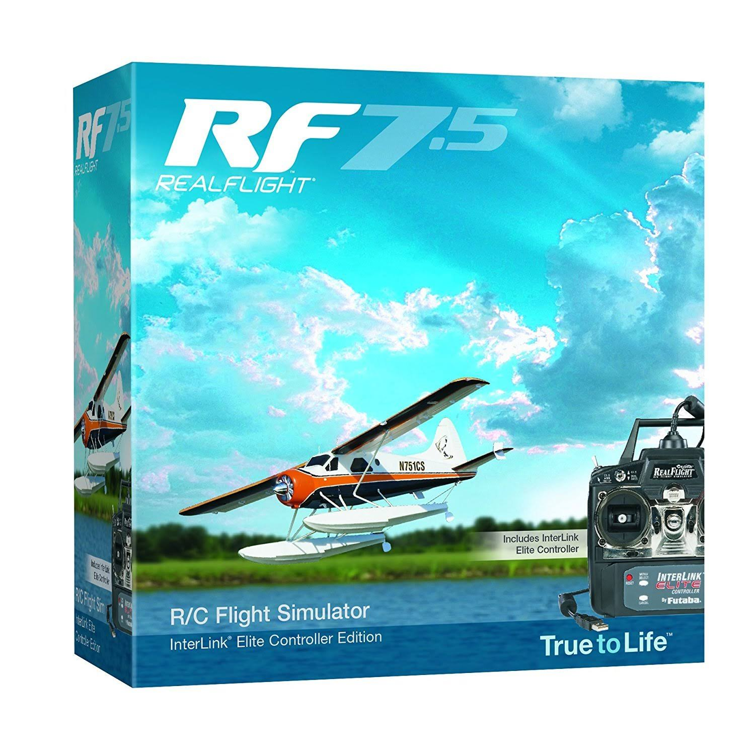 Great Planes RealFlight 7.5 RC Flight Simulator - with Interlink Elite Controller