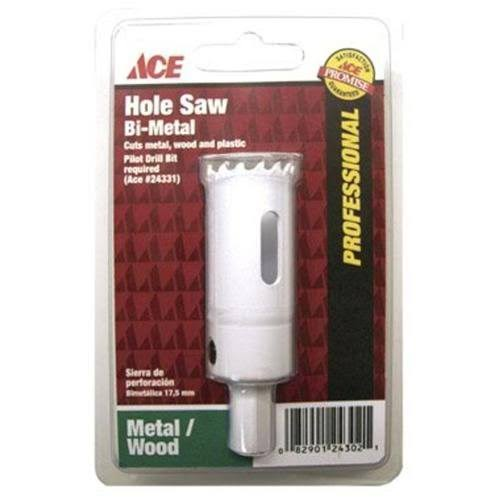 Ace Hole Saw, Bi-Metal, 1 Inch,
