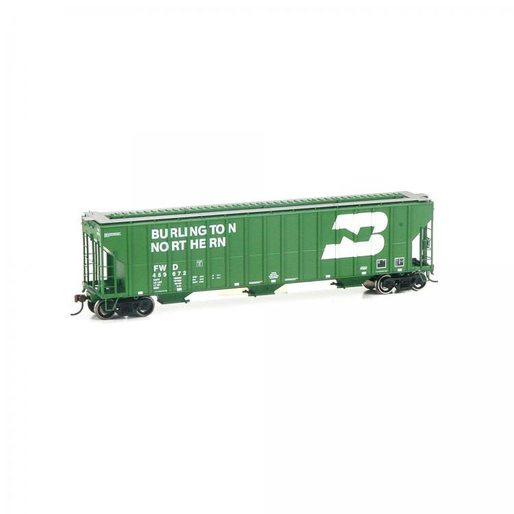 Athearn HO RTR FMC Covered Hopper, BN/FW&D #459672 81965
