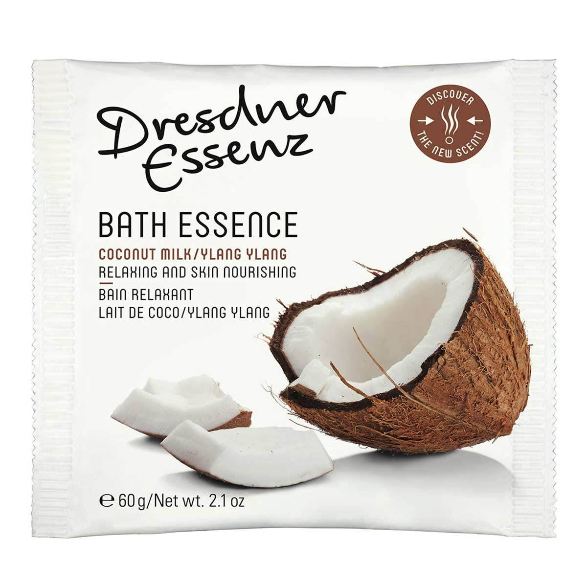 Dresdner Essenz Bath Essence Powder - Coconut Milk & Ylang Ylang, 60g