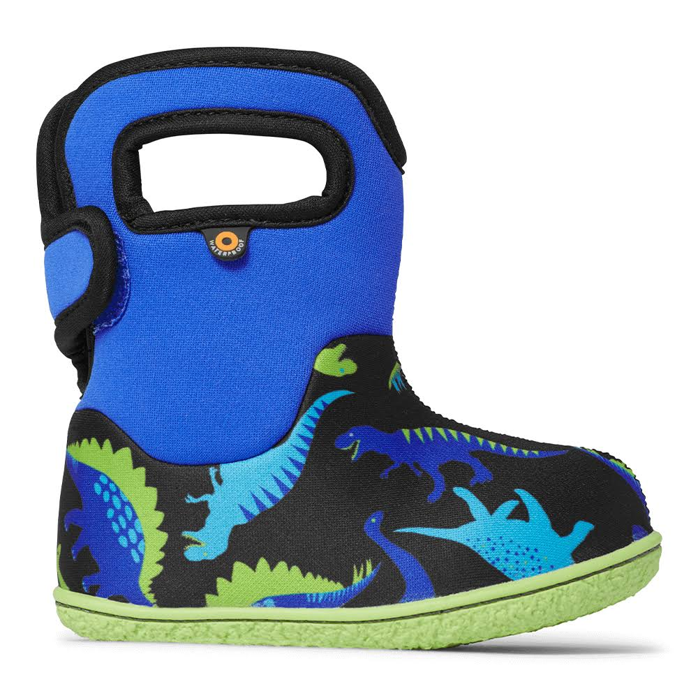 Bogs Kids Baby Dino Boots - Electric Blue, 8 US