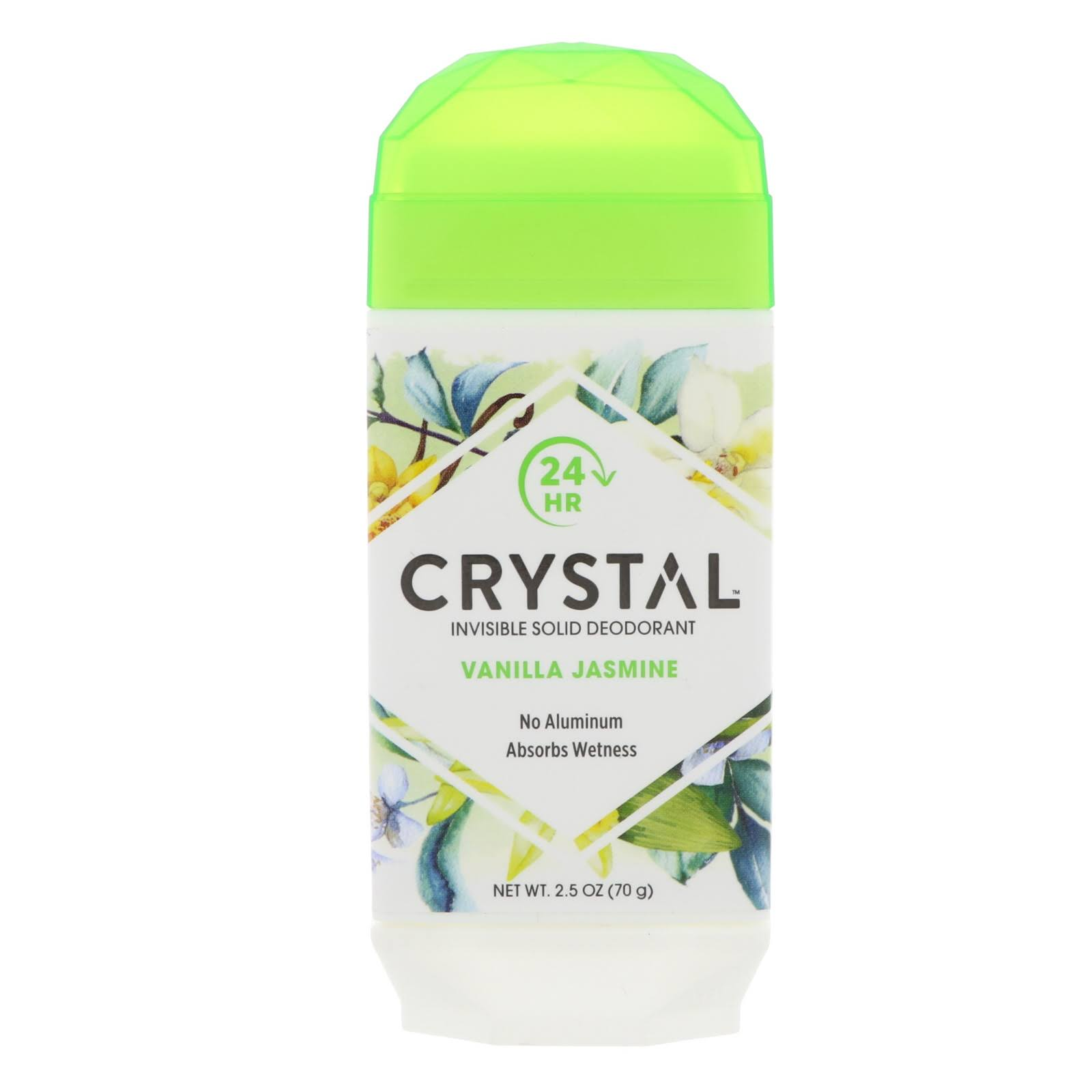 Crystal Deodorant Solid Stick - 2.5oz