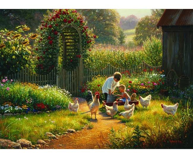 Cobble Hill - Feeding Time, 1000-Piece Puzzle