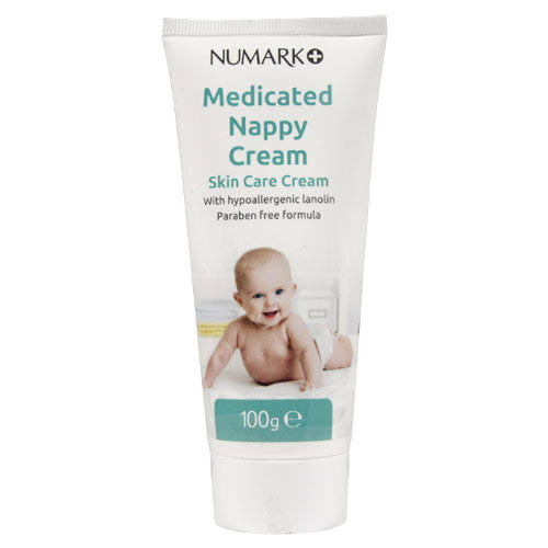 Numark Medicated Nappy Cream - 100g