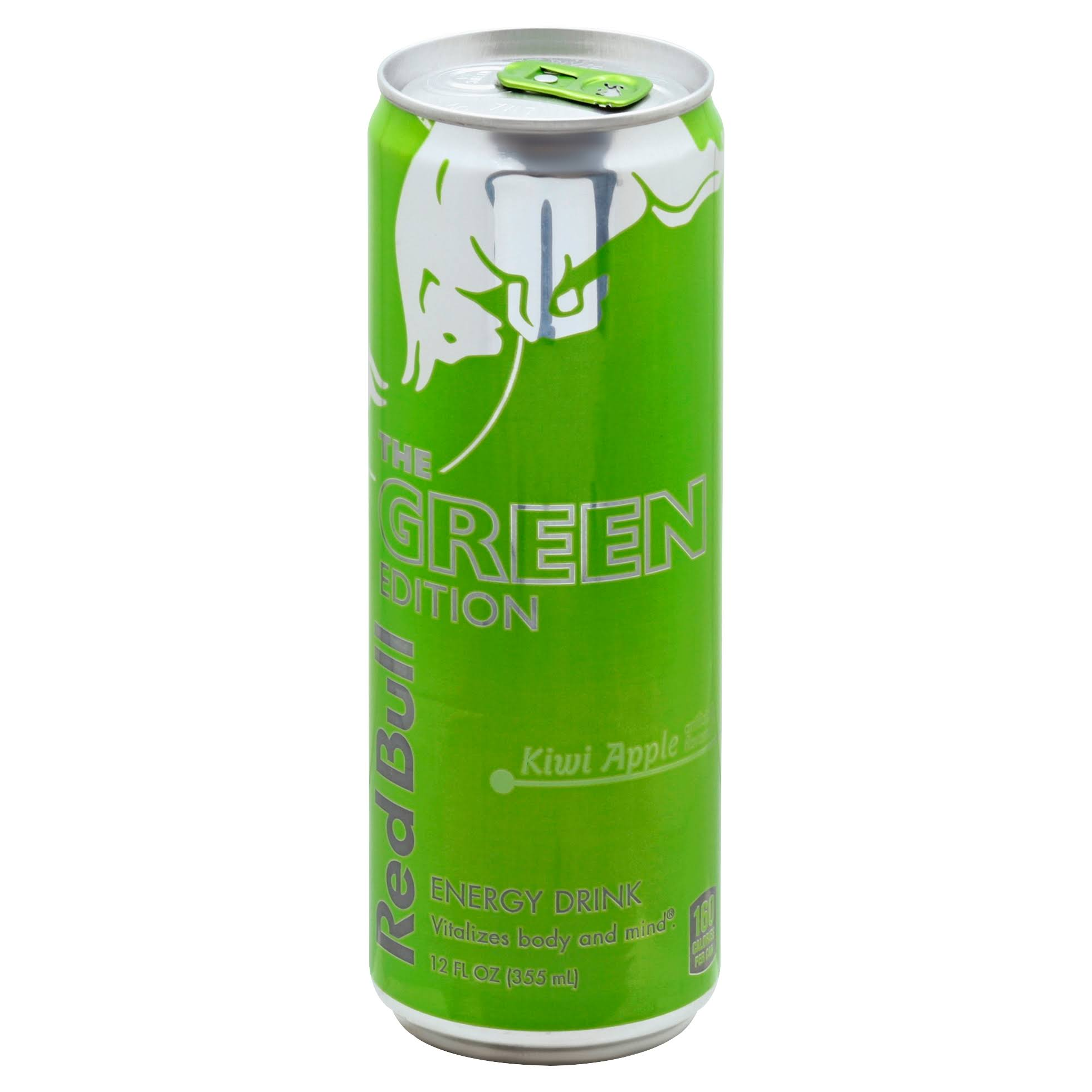 Red Bull Energy Drink, The Green Edition, Kiwi Apple - 12 fl oz