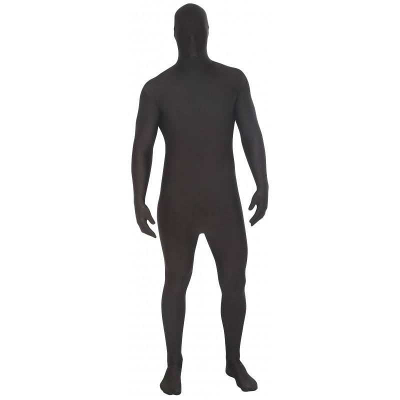 AFG Media Original Morphsuit Fancy Dress Costume - Black, Medium