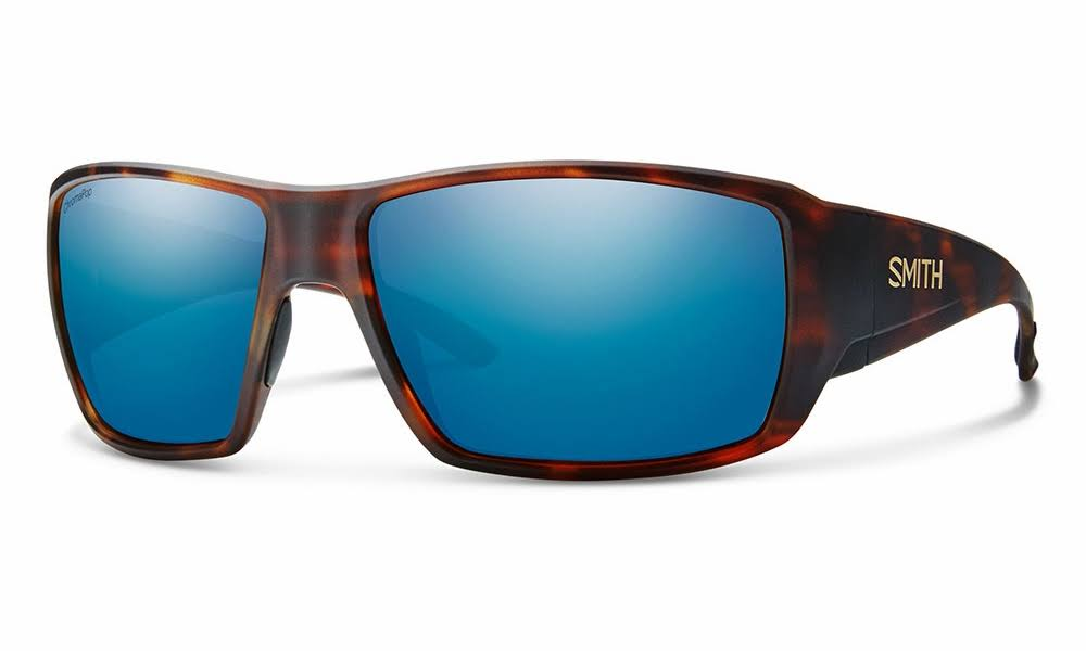 Smith Guides Choice Sunglasses - Matte Havana/ChromaPop Polarized Blue Mirror
