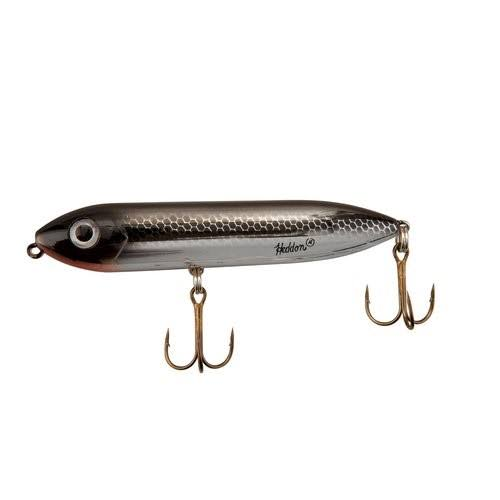 Heddon Super Spook Jr. - Black Shiner, 3-1/2""