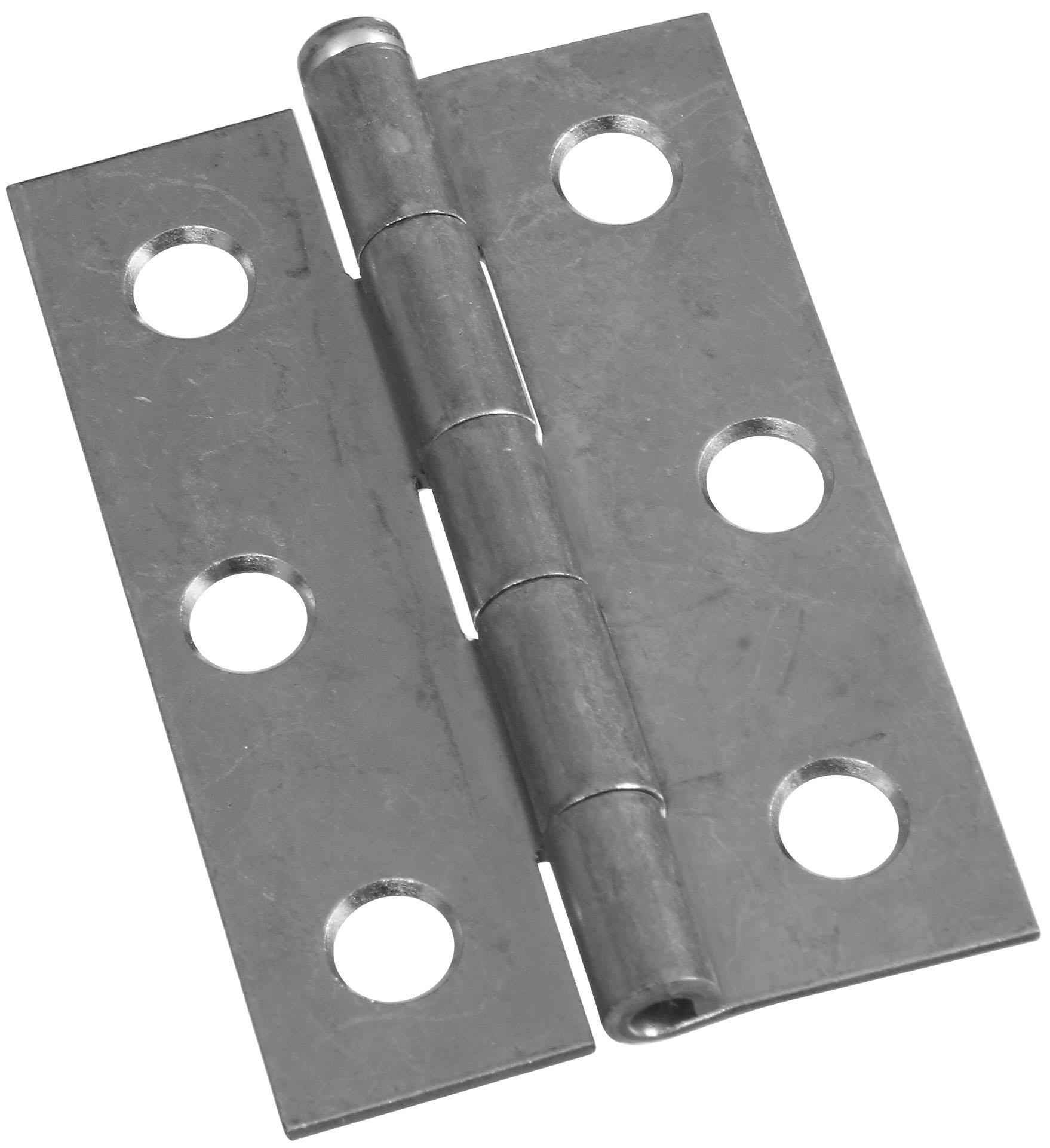 "National Hardware V508 Removable Pin Hinge - 2.5"", Zinc"