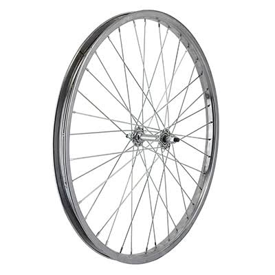 "Wheel Master Front Bicycle Wheel - Silver, 24"" x 1.75"""
