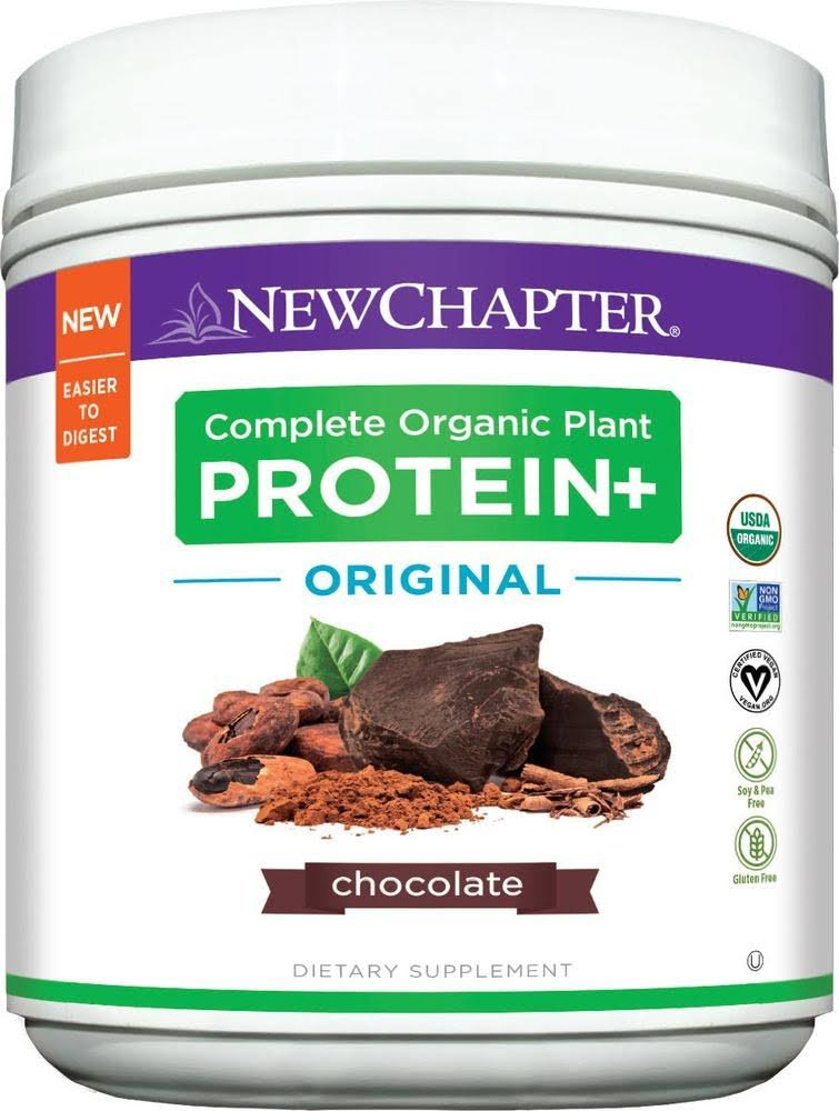 New Chapter Plant Protein Original Chocolate