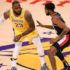 Lakers Let Go of Game to Portland