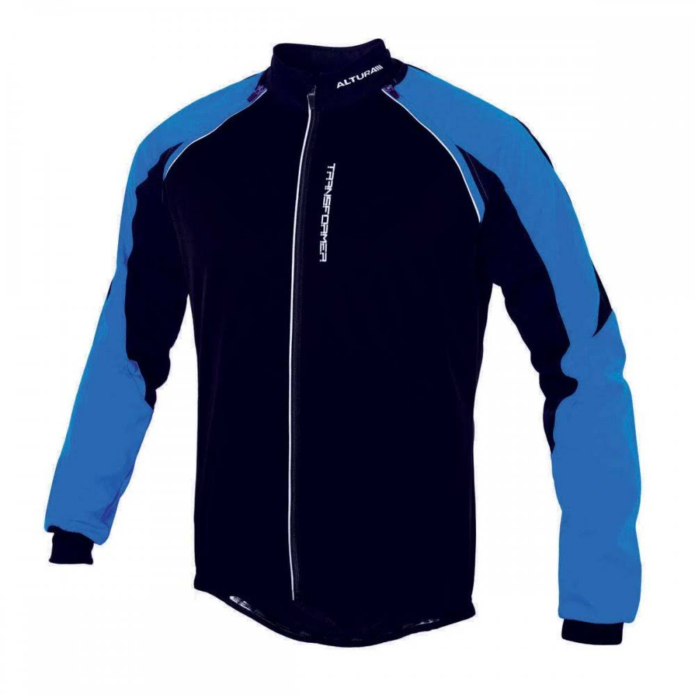 Altura Transformer Windproof Jacket Zyro Colour: Blue, Zyro Size: XL