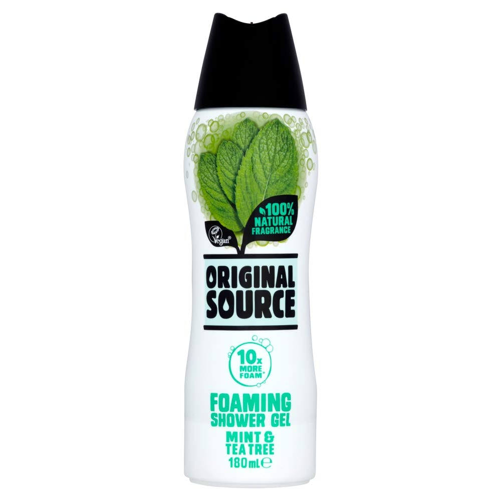 Original Source Mint and Tea Tree Foaming Shower Gel - 180ml