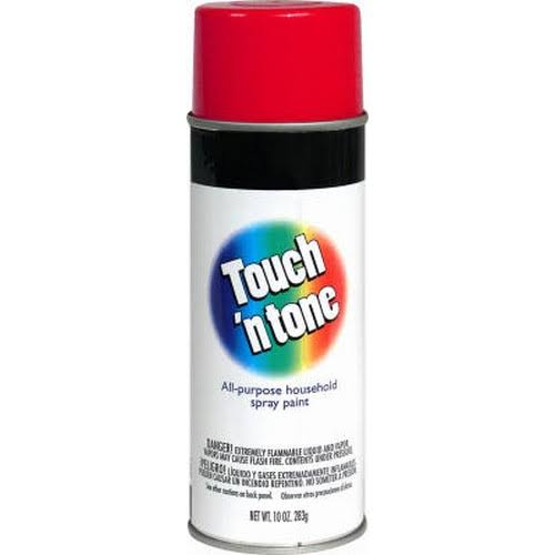 Rustoleum Touch & Tone Spray Paint - 830 Cherry Red, 10oz
