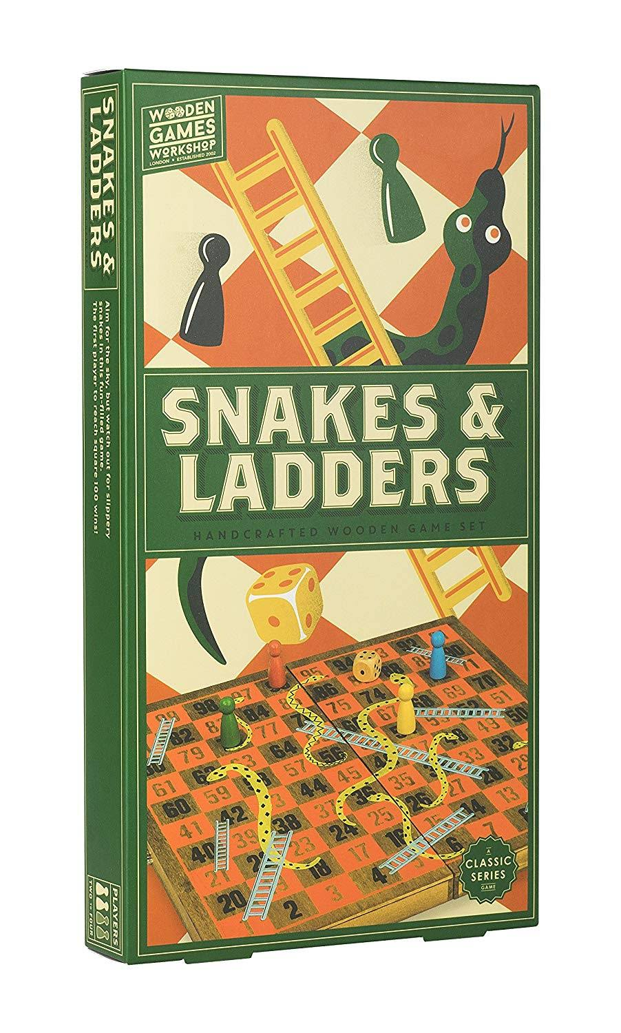 Professor Puzzle Snakes and Ladders