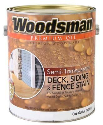 True Value MFG Stov10 Oil Deck Siding & Fence Stain - Semi-transparent, Redwood, 1gal