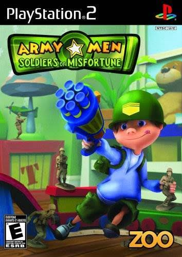 Army Men: Soldiers of Misfortune - PlayStation 2