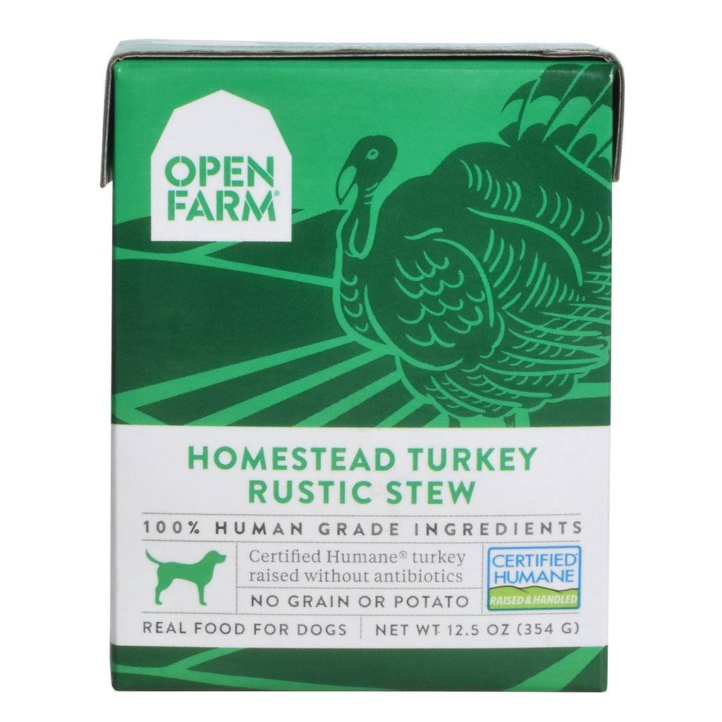 Open Farm Rustic Stew Homestead Turkey Dog Food, 12.5 oz
