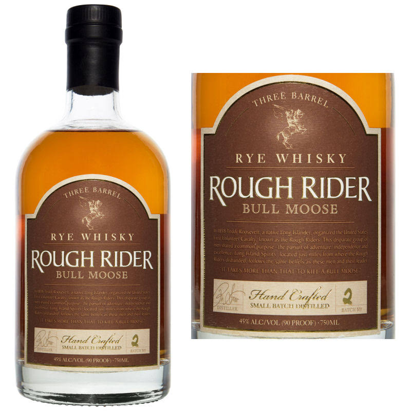 Rough Rider Straight Bourbon Whiskey - 750ml