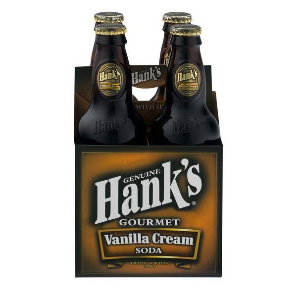 Hank's Vanilla Cream Soda - 12 fl oz bottle