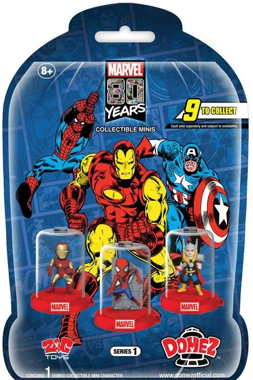 Domez Marvel 80th Anniversary Series 1 Mystery Pack
