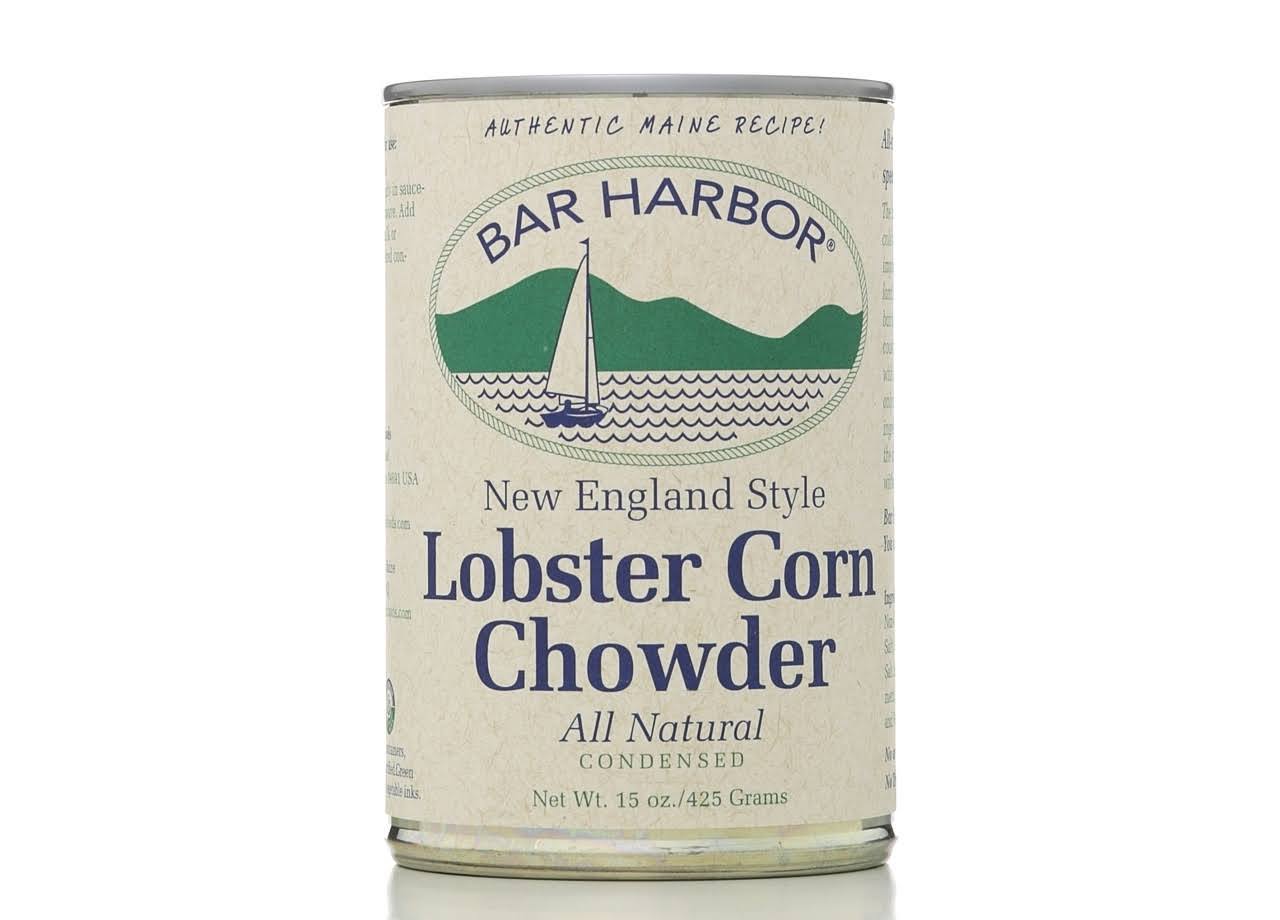 Bar Harbor Lobster Corn Chowder - New England Style, 15oz, Pack of 6