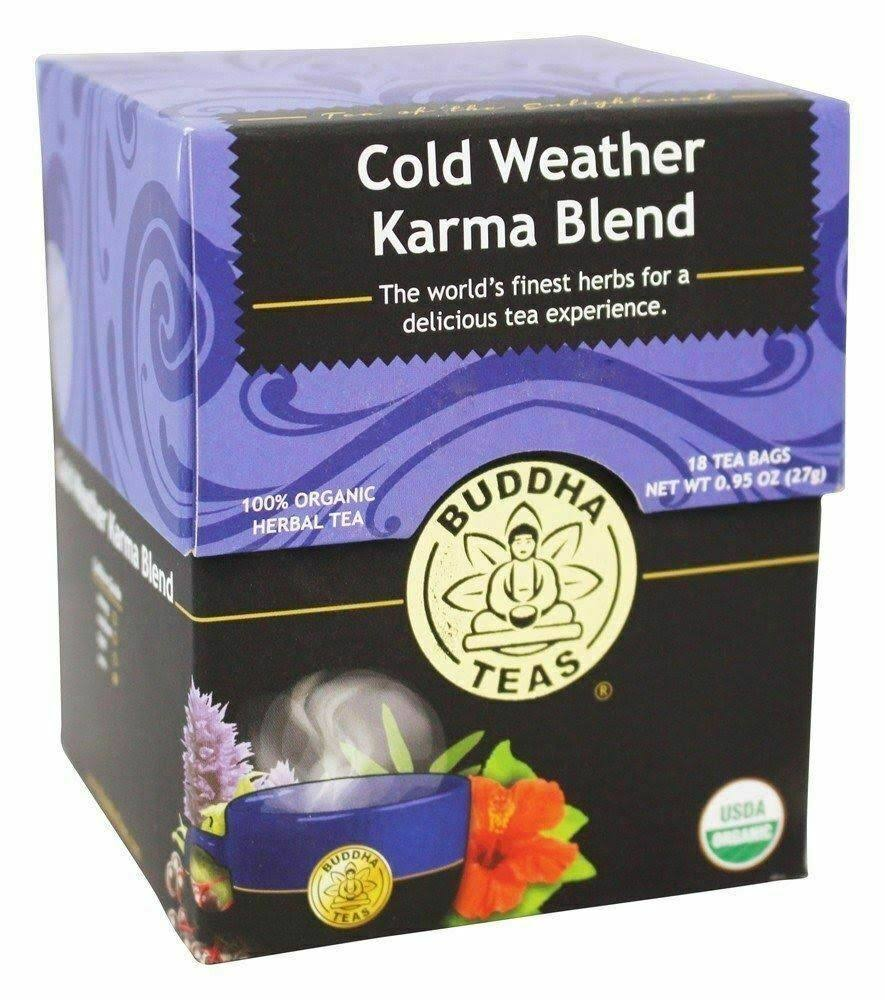 Buddha Teas Cold Weather Karma Blend Tea