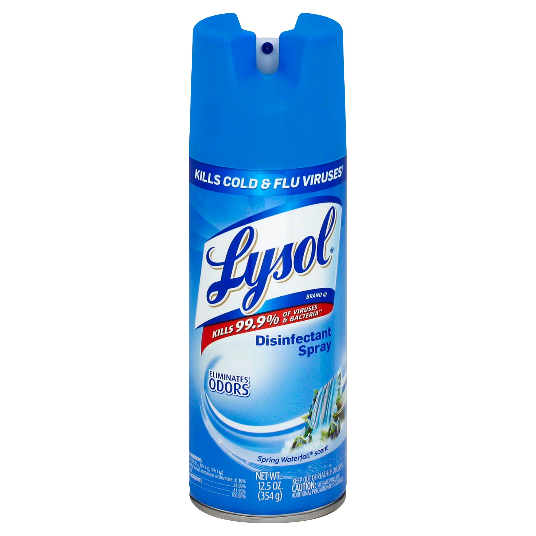 Lysol Disinfectant Spray - Spring Waterfall, 12.50oz