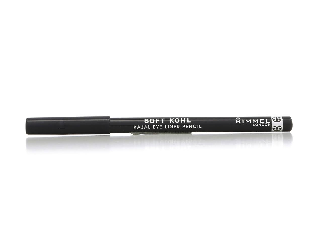 Rimmel London Soft Kohl Kajal Eye Liner Pencil - 061 Jet Black, 1.2g