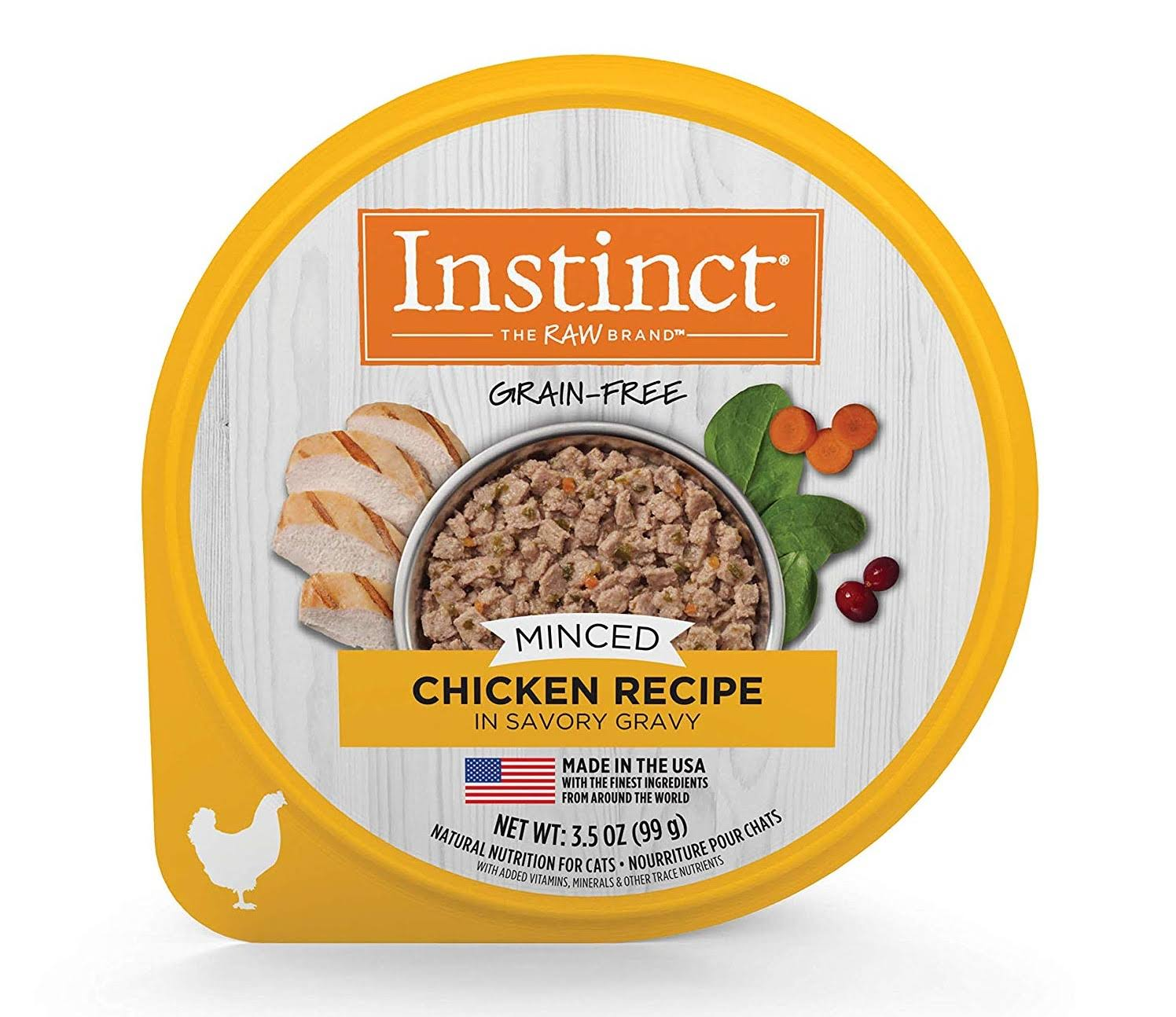 Instinct Minced Chicken Recipe Wet Cat Food