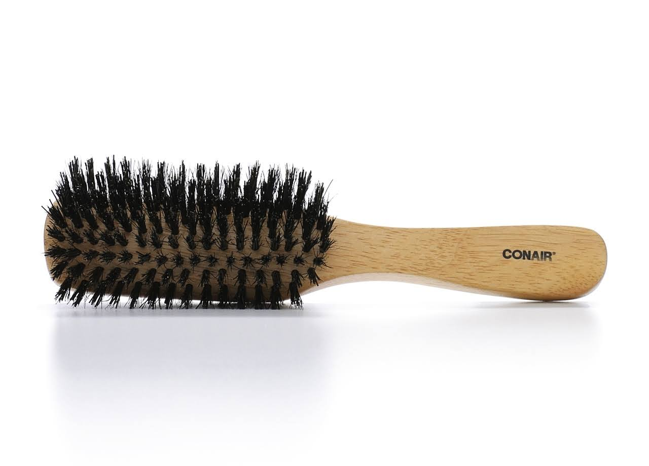 Conair Styling Essentials Hair Brush with Reinforced Boar Bristles