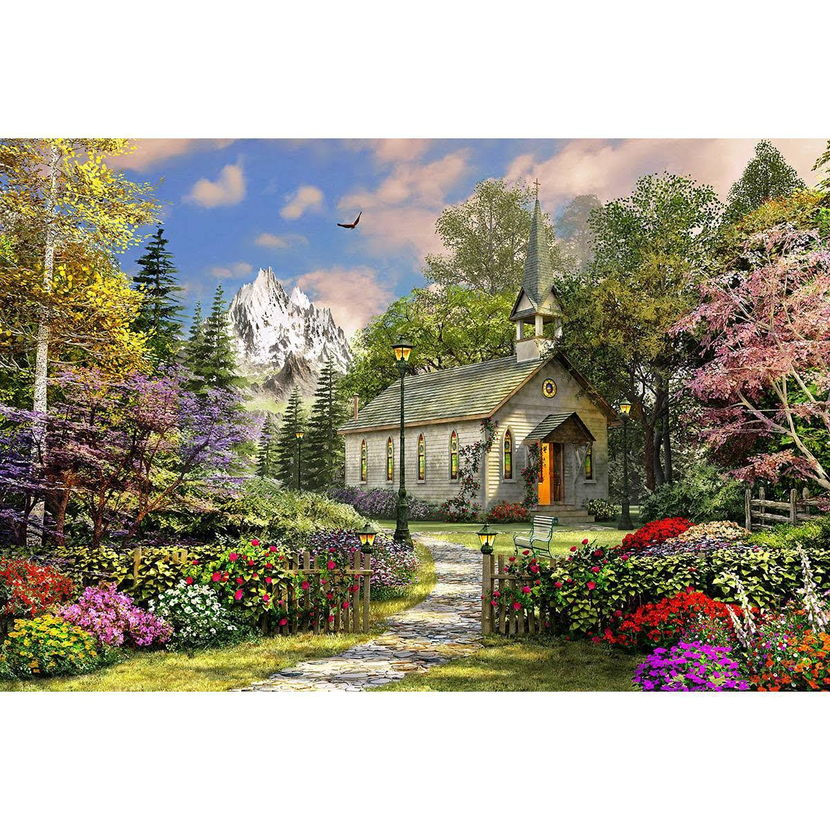 Springbok Mountain View Chapel 500 Piece Jigsaw Puzzle