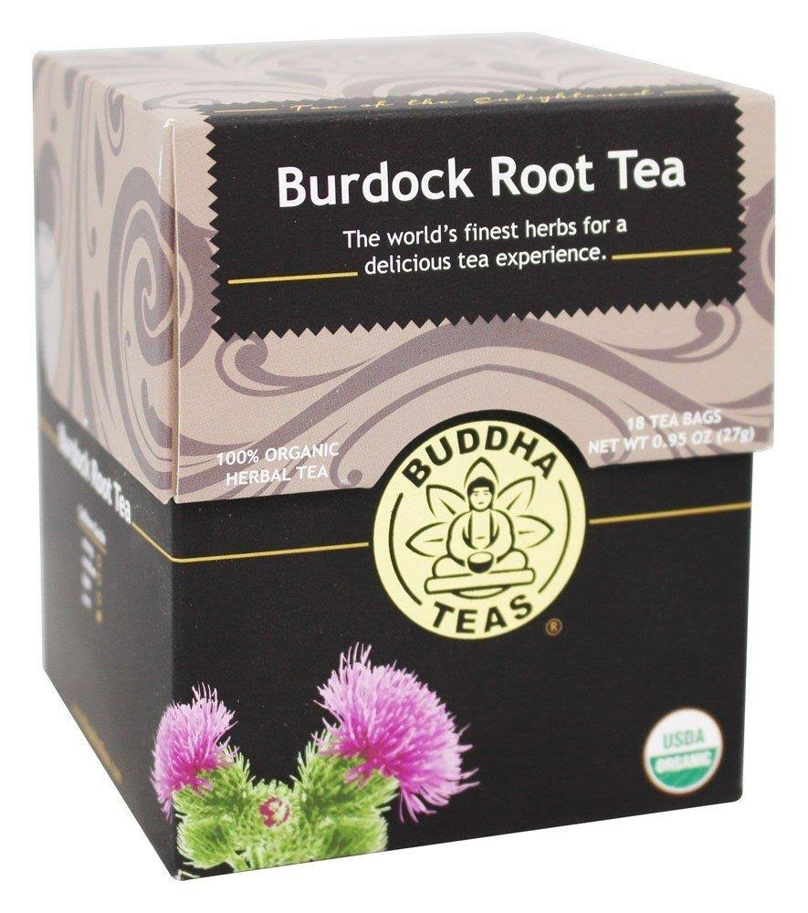 Buddha Teas Burdock Root Tea - 18 bags, 0.95 oz box