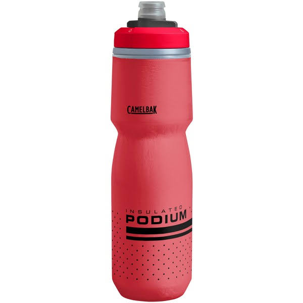 CamelBak Podium Chill 24 oz Water Bottle-Fiery Red